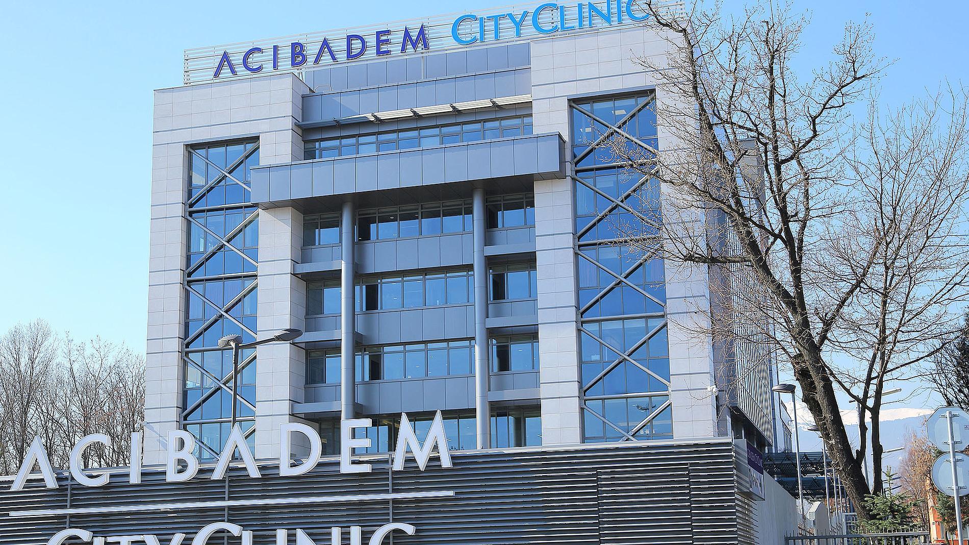 Exterior signage of Acibadem City Clinic, Sofia Oncology