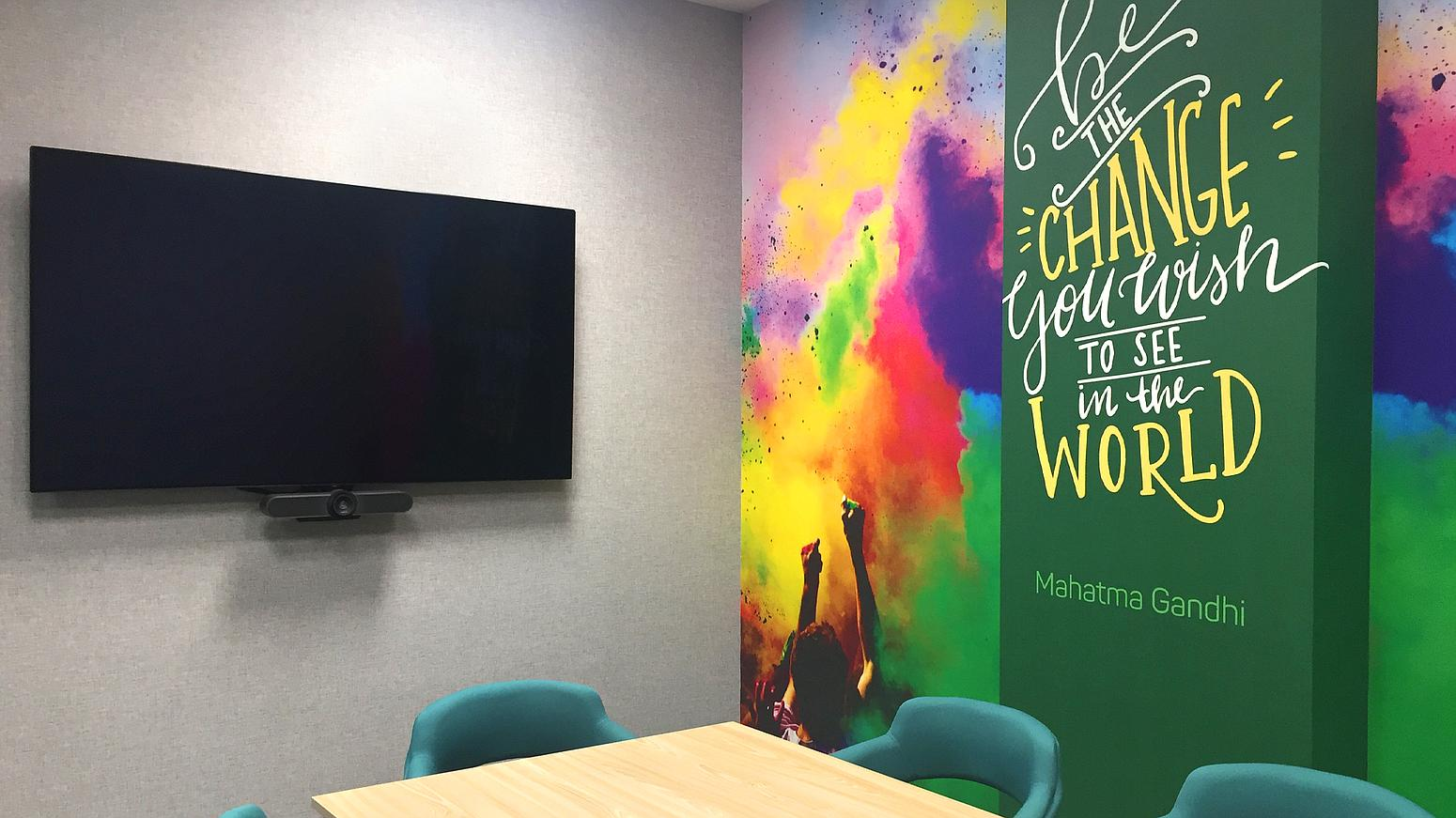 design and wall branding
