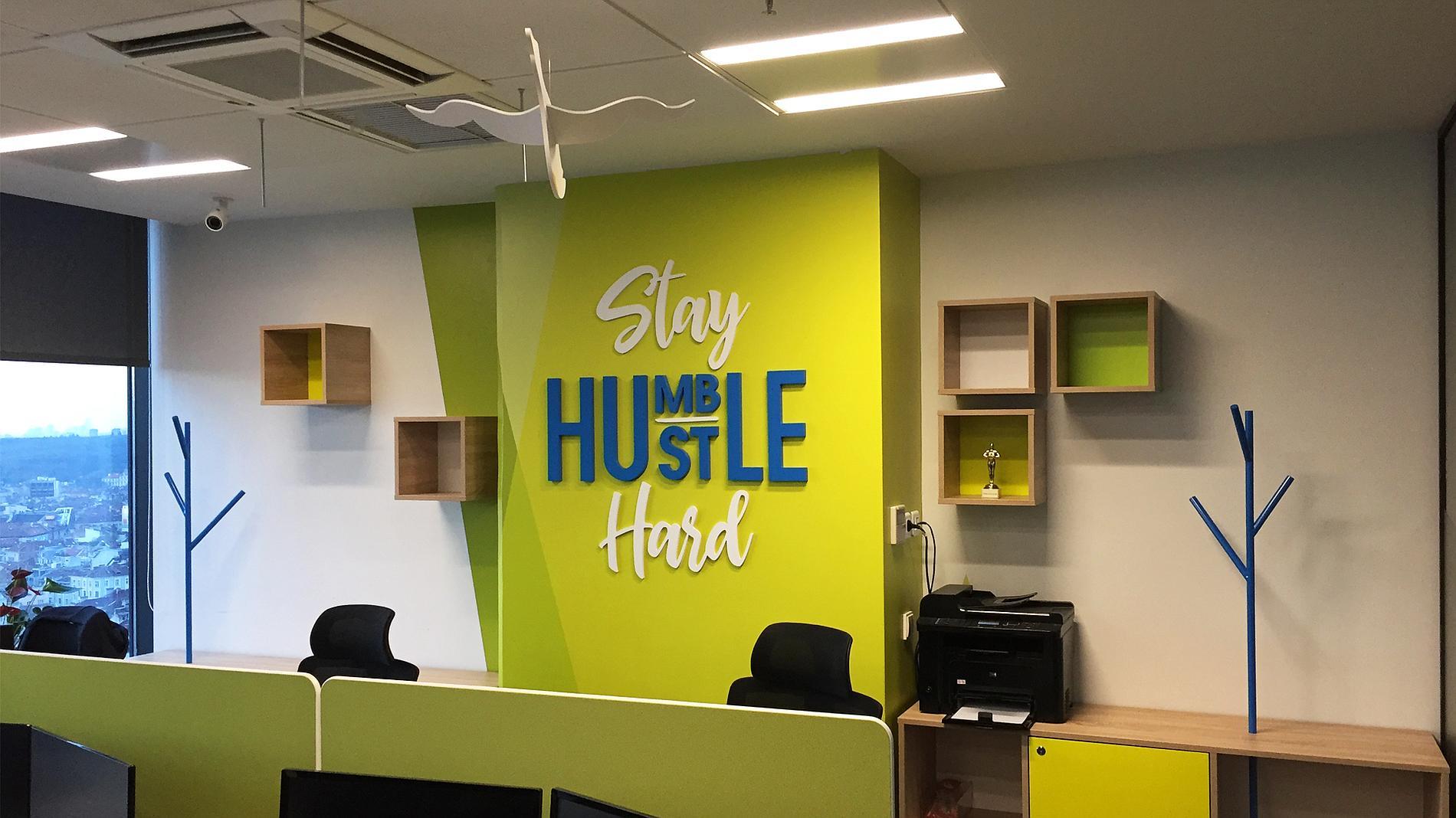 design, office branding, letters