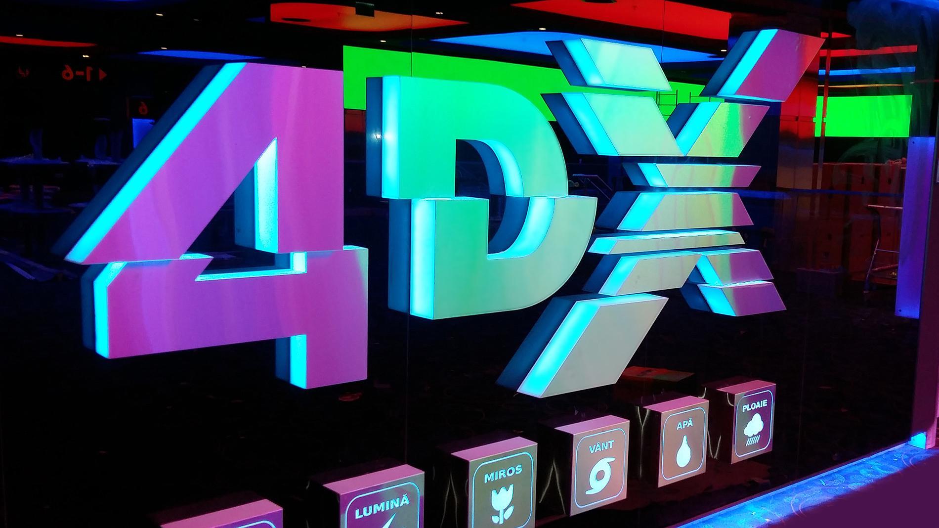 4DX signage