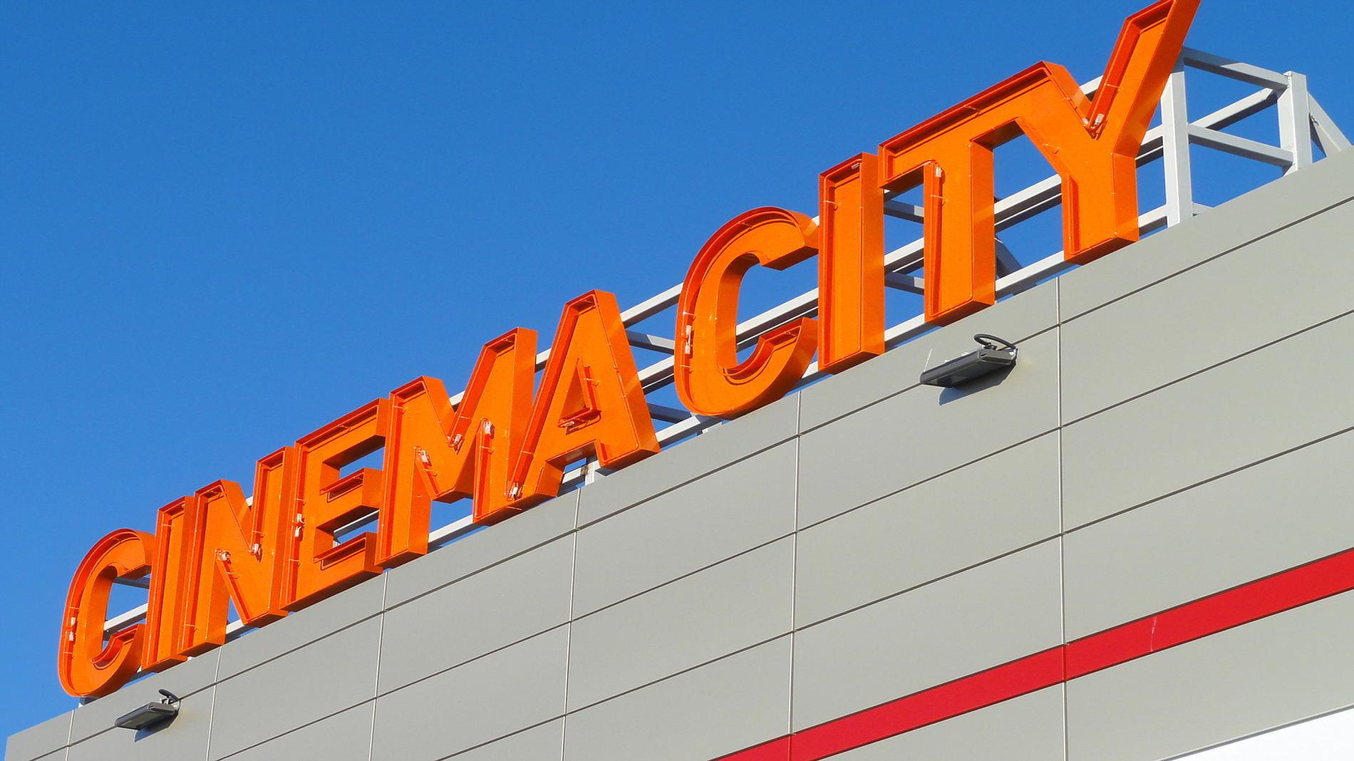 Cinema City channel letters