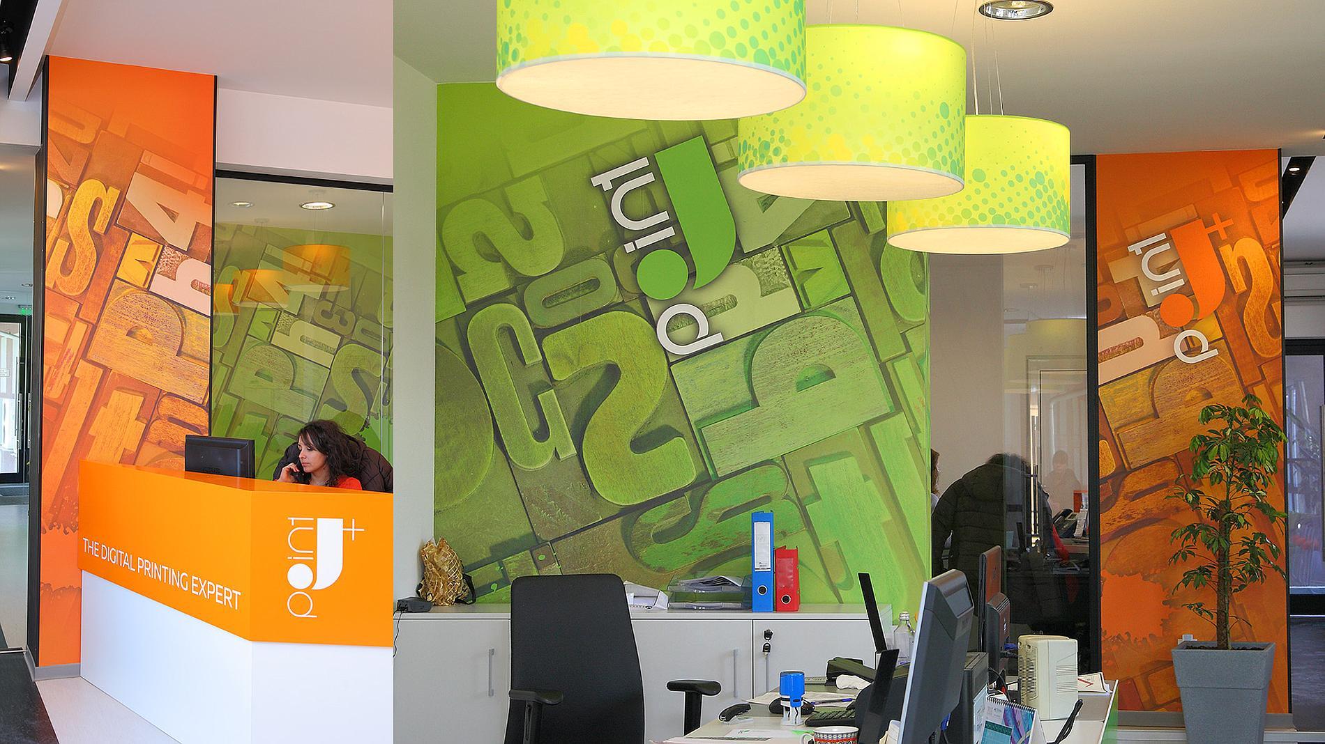 J Point office branding