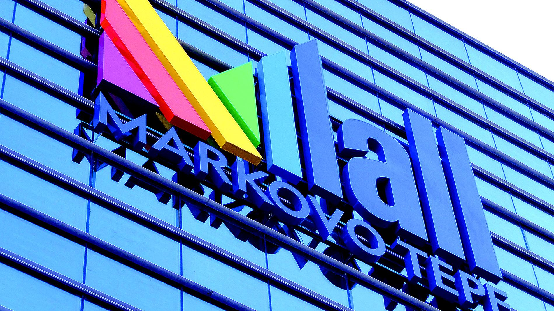 Mall Markovo Tepe - exterior signage, logo, channel letters